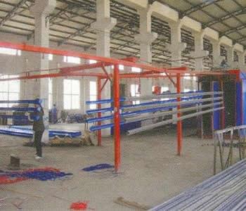 生产车间-江阴工作台|江阴隔离网|江阴防静电台面|柜
